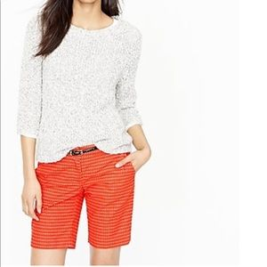 J. CREW: Bermuda shirt in Pebble dot